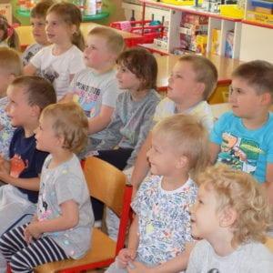 Dzień Dziecka w Przedszkolu w Przybędzy.
