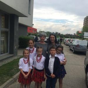 Finał konkursu recytatorsko-wokalnego Odzyskanie przez Polskę niepodległości w wierszu, pieśni i piosence.